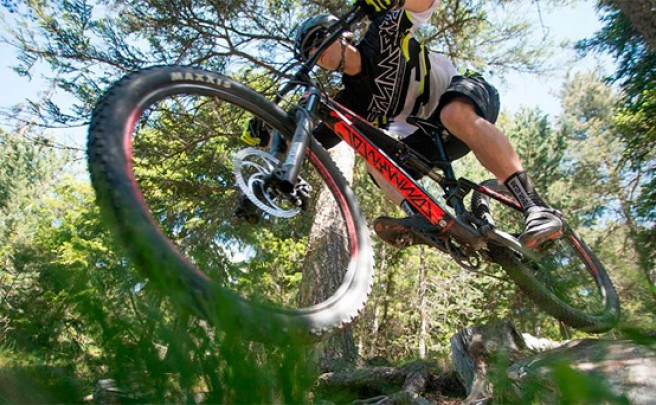 La Commencal META Trail V4 de 2015 en acción