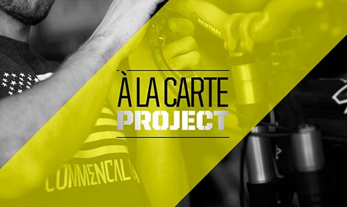 Commencal 'A La Carta', o cómo personalizar nuestra bicicleta del primer al último componente