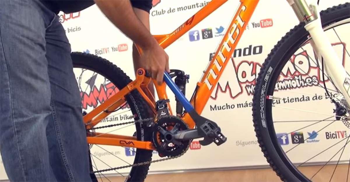 Mecánica básica: ¿Cómo montar y desmontar los pedales de una bicicleta?