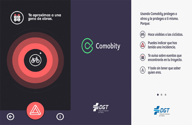 Comobity, la aplicación colaborativa de la DGT para mejorar la seguridad de conductores, peatones y ciclistas
