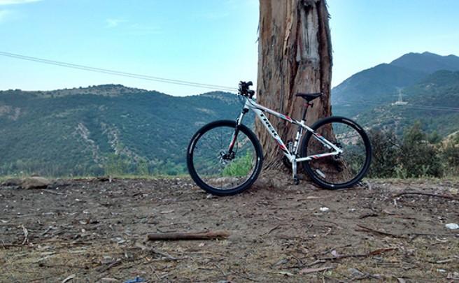 La foto del día en TodoMountainBike: 'Alturas de Machalí (Chile)'
