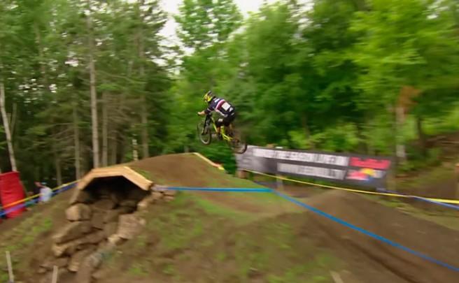 Copa del Mundo UCI DH 2015: Los mejores momentos de la quinta ronda disputada en Mont-Sainte-Anne (Canadá)