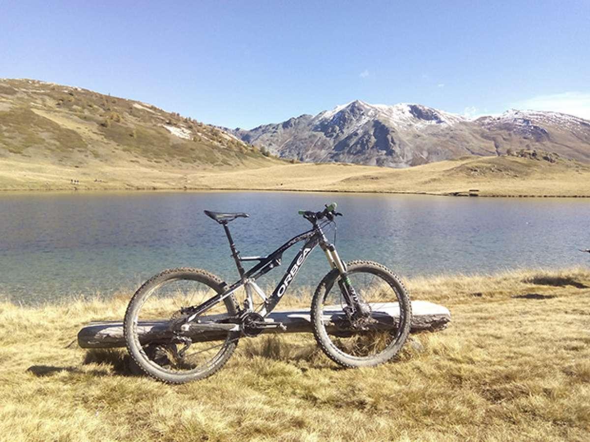 """La foto del día en TodoMountainBike: """"En el corazón de los Alpes"""""""