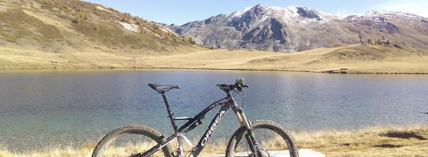 La foto del día en TodoMountainBike: 'En el corazón de los Alpes'