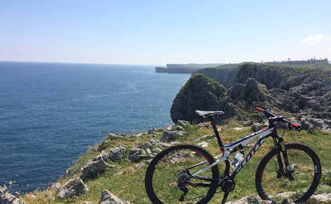 La foto del día en TodoMountainBike: 'La costa de Llanes (Asturias)'