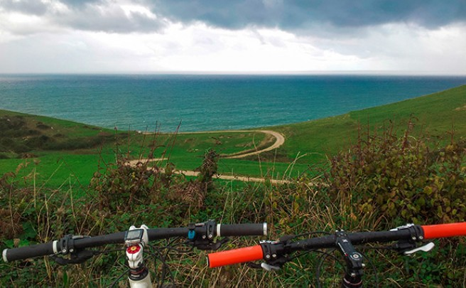 La foto del día en TodoMountainBike: 'Costa occidental de Cantabria'
