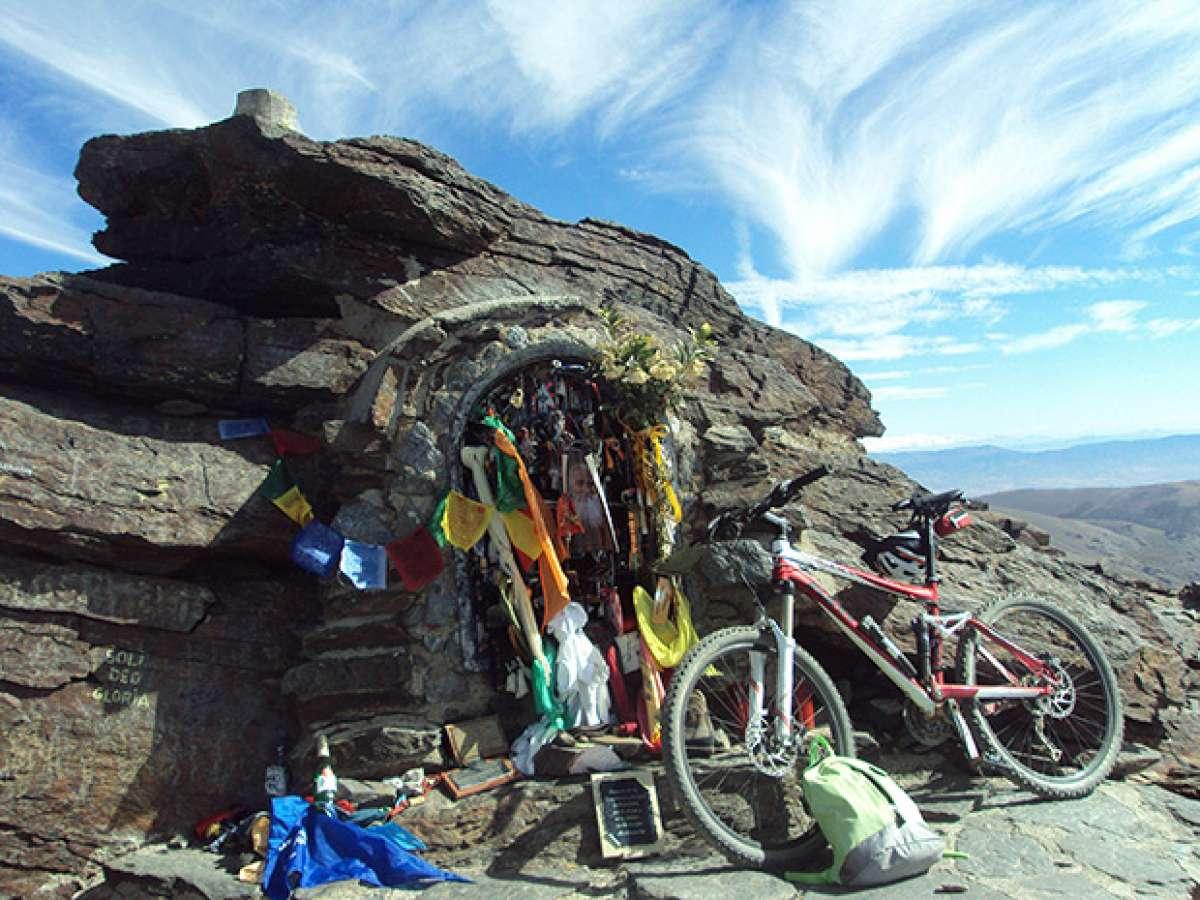 La foto del día en TodoMountainBike: 'Cumbre del Mulhacén'