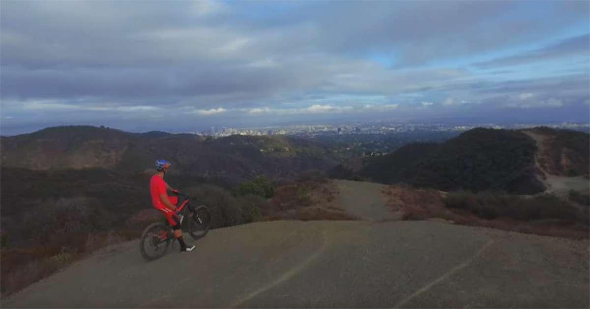 Rodando por los senderos de California con Curtis Keene
