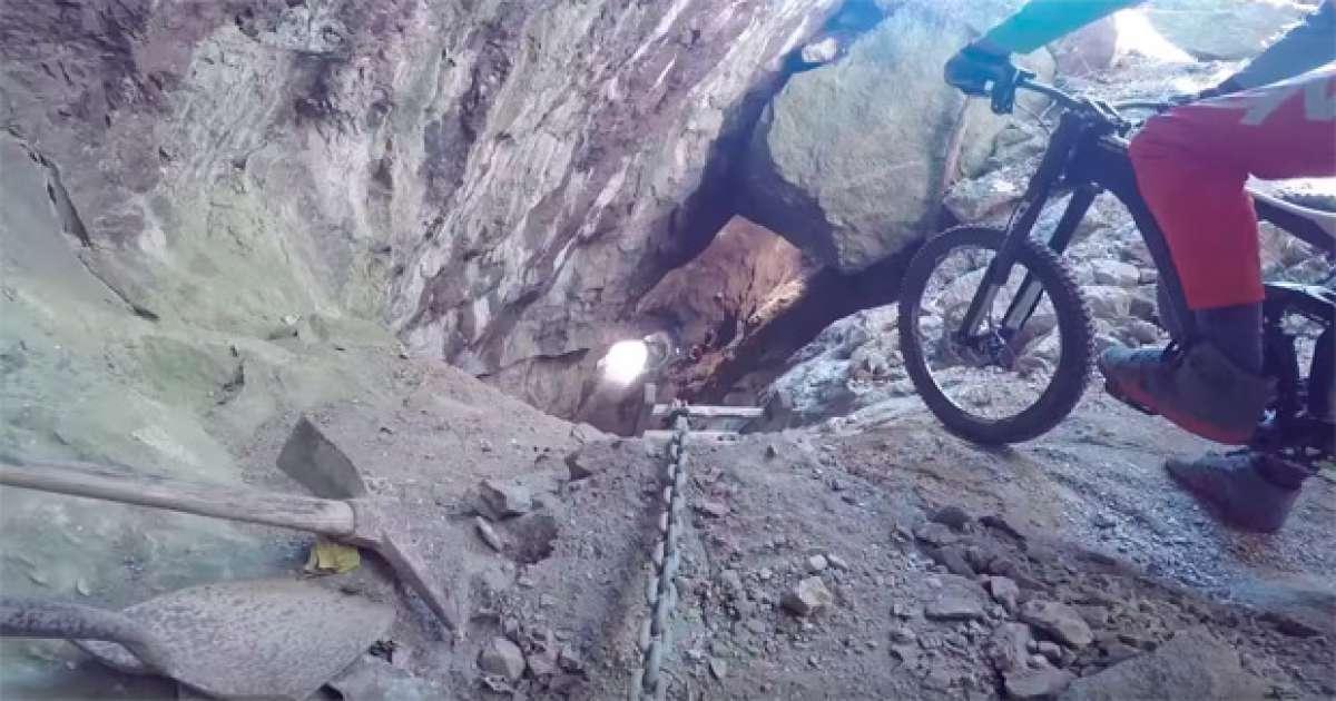 Aaron Chase, Adam Hauck y una mina abandonada: Increíble descenso