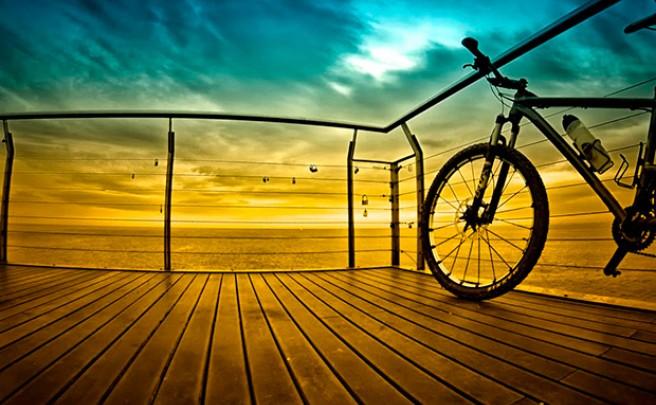 La foto del día en TodoMountainBike: 'Desde Badalona'