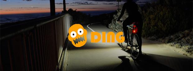 DING, reinventando las luces para bicicletas