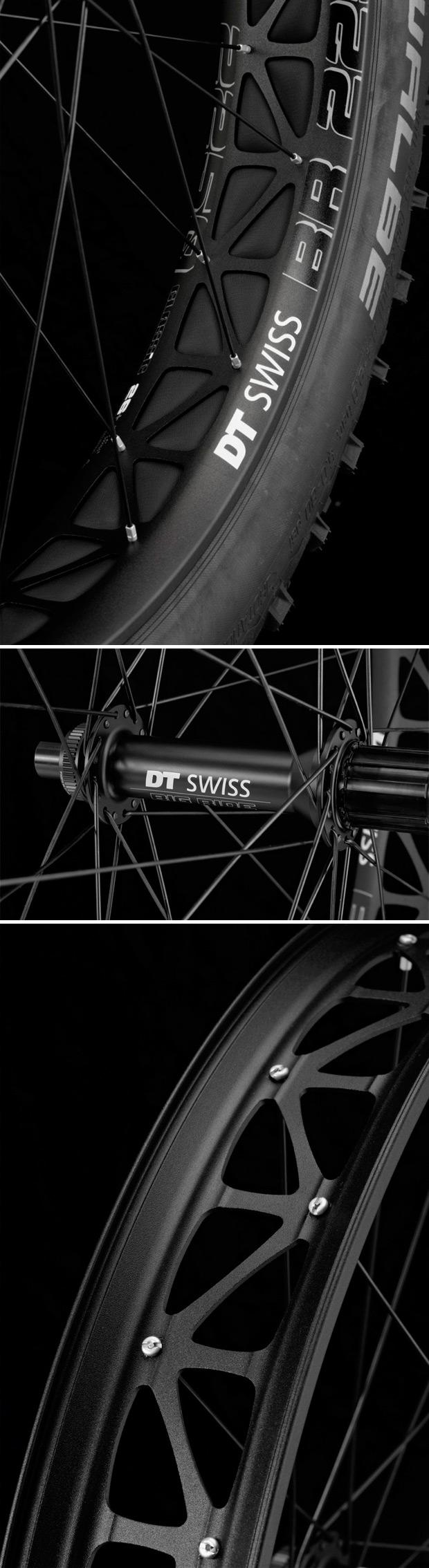 DT Swiss Big Ride 2250 Classic, las nuevas ruedas para 'Fat Bikes' de la firma suiza