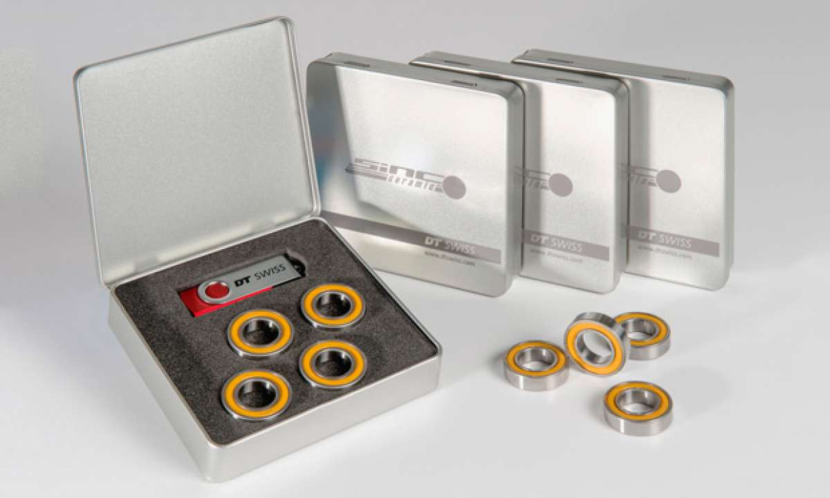 "Nuevo kit de rodamientos ""SINC Ceramic"" de DT Swiss"