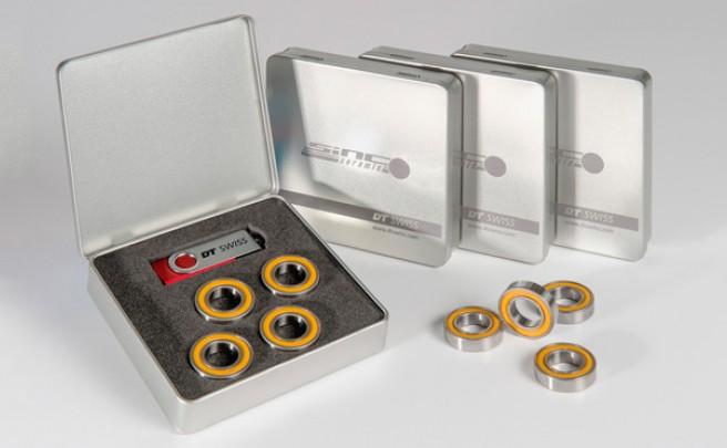 Nuevo kit de rodamientos 'SINC Ceramic' de DT Swiss