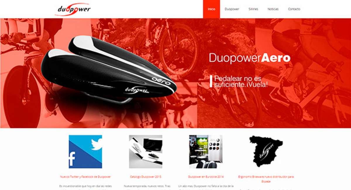 Nueva web y nuevos perfiles sociales para los sillines ergonómicos Duopower
