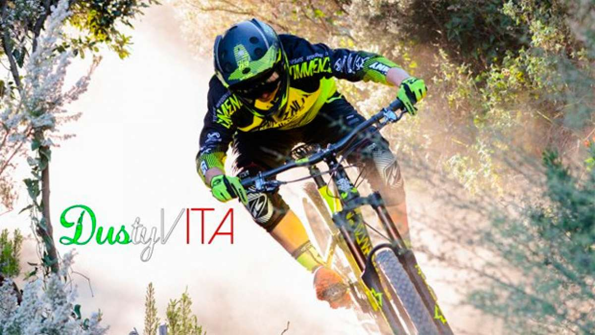 """Dusty Vita"", una sesión de Enduro con los integrantes del Commencal Vallnord Enduro Team"