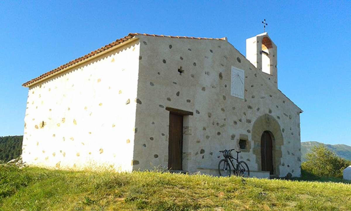 """La foto del día en TodoMountainBike: """"Ermita de St. Elies"""""""