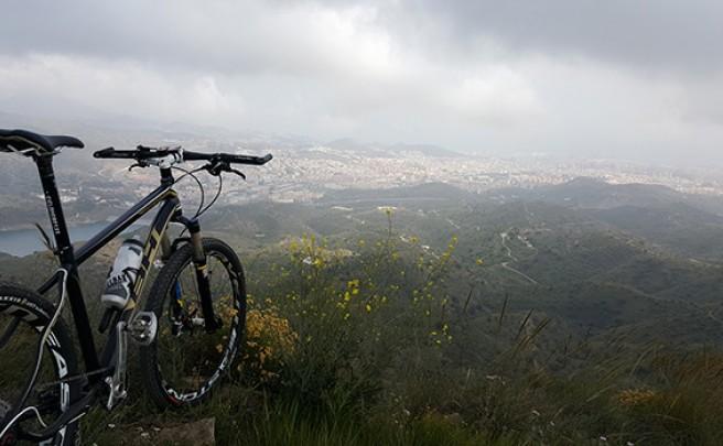 La foto del día en TodoMountainBike: 'Málaga en su esplendor'