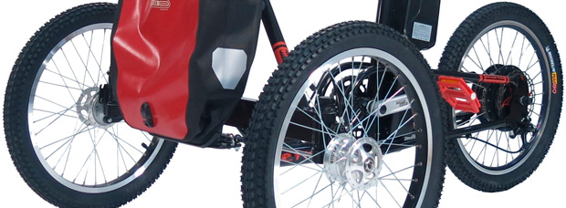 Etnnic Off-Road Tribike, un triciclo de montaña para personas con movilidad reducida