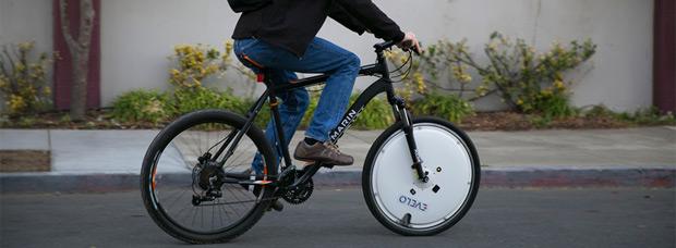 EVELO Omni Wheel, una rueda para convertir cualquier bicicleta en una E-Bike