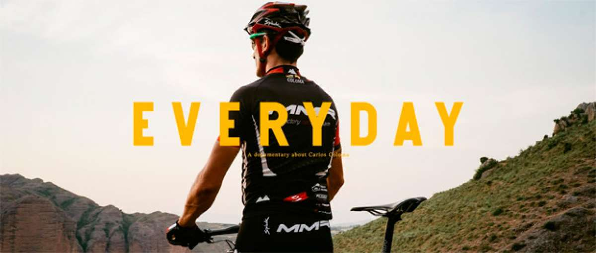 """""""Everyday"""", un interesante documental acerca del día a día del corredor profesional Carlos Coloma"""