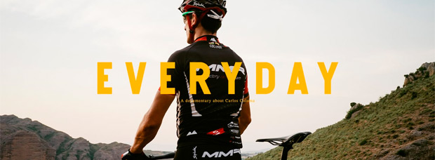 'Everyday', un interesante documental acerca del día a día del corredor profesional Carlos Coloma