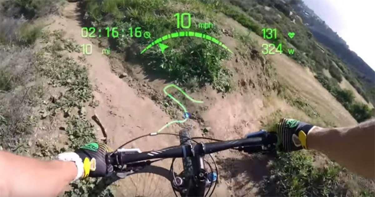 Everysight Raptor, la tecnología de los cazas de combate en unas gafas para ciclistas