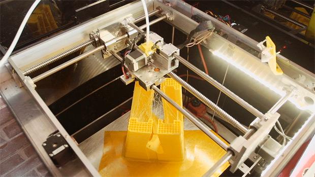 ¿Cómo fabricar un cuadro de fibra de carbono? Con una impresora 3D y mucho ingenio