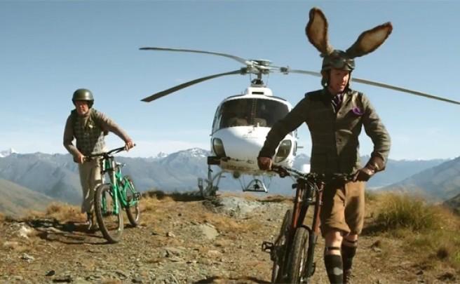 La versión ciclista de la fábula de la tortuga y la liebre, en un divertido anuncio de Air New Zealand