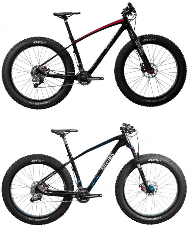 Las 'Fat Bikes' de Borealis, disponibles en España de la mano de Bicius Bikes