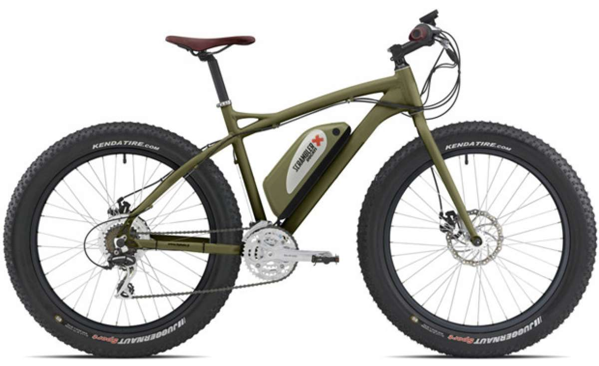 """Fat e-Bike Ducati Scrambler by Italwin, una """"ruedas gordas"""" eléctrica de aspecto imponente"""