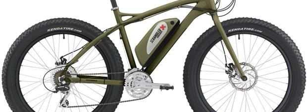 Fat e-Bike Ducati Scrambler by Italwin, una 'ruedas gordas' eléctrica de aspecto imponente