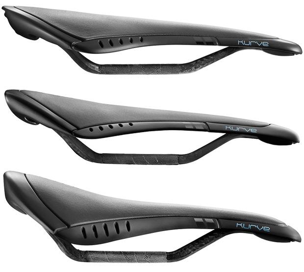 Fi:zi'k Kurve, una nueva gama de sillines para satisfacer las necesidades de todo tipo de ciclistas
