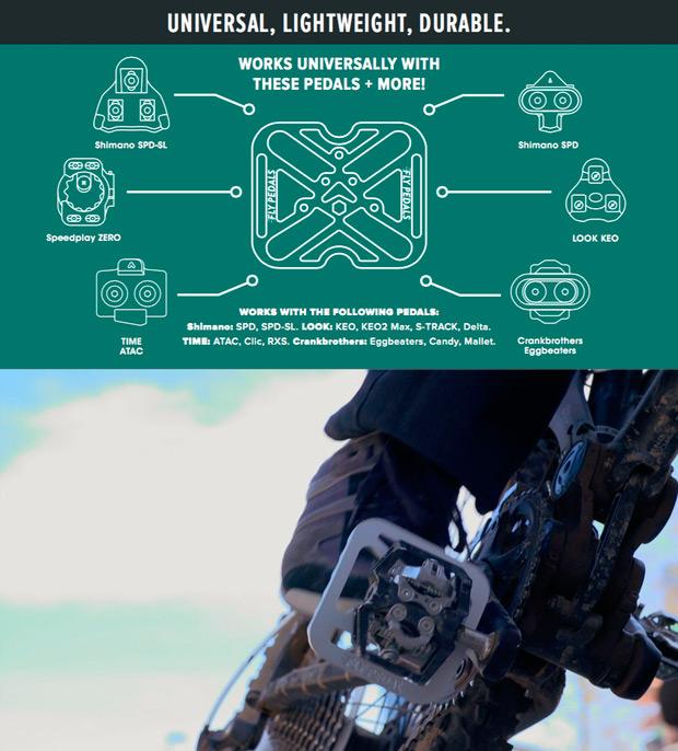 Fly Pedals V2, nueva versión para este adaptador de pedales automáticos a plataforma