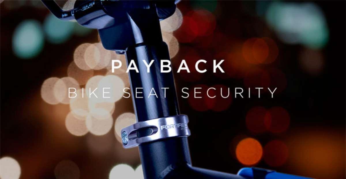 Fortified Payback, tornillos antirrobo para tija y sillín con garantía de por vida