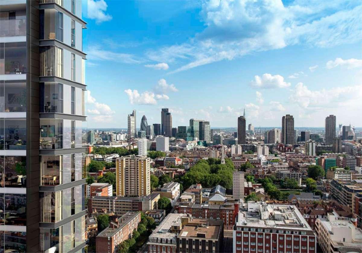 250 City Road, el edificio más 'bike-friendly' de Londres
