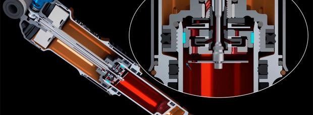 Así funcionan los nuevos amortiguadores Fox DPS (Dual Piston System) de 2016