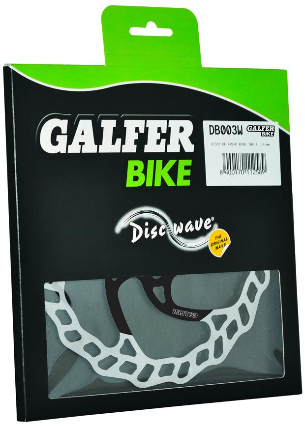 Nueva estética y más rendimiento para los discos de freno Galfer Disc Wave