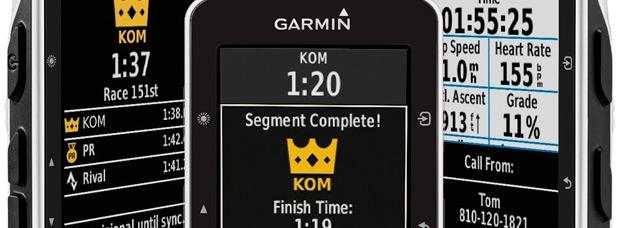 Nuevo Garmin Edge 520, ahora con segmentos de Strava en tiempo real