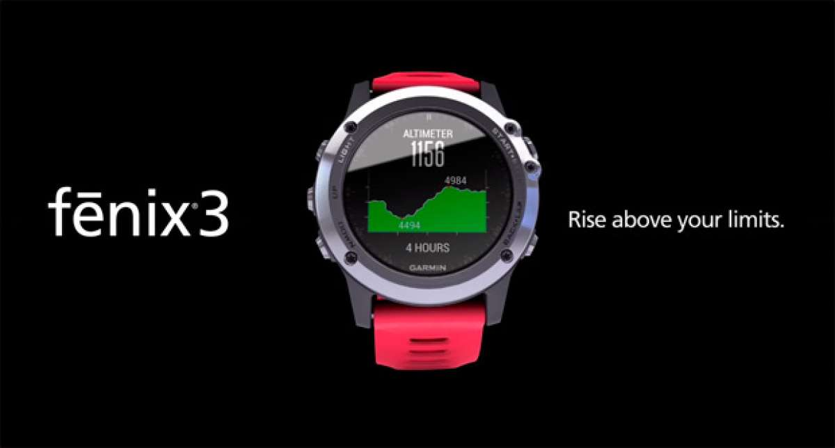 Garmin Fēnix 3, un reloj GPS multideportivo diseñado para resistirlo todo