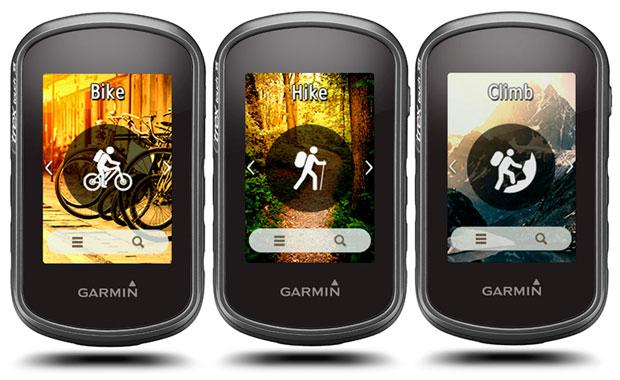Navegadores GPS eTrex Touch 25 y eTrex Touch 35, lo último de Garmin