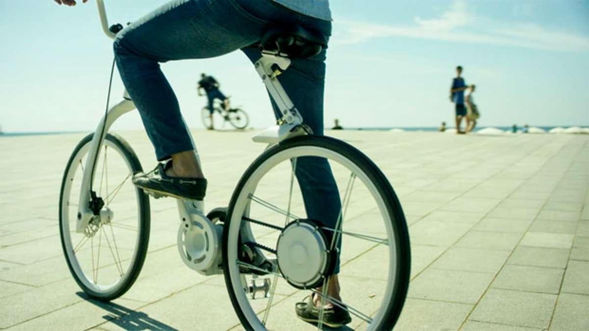 Gi FlyBike, una bicicleta eléctrica plegable... ¡En un segundo!