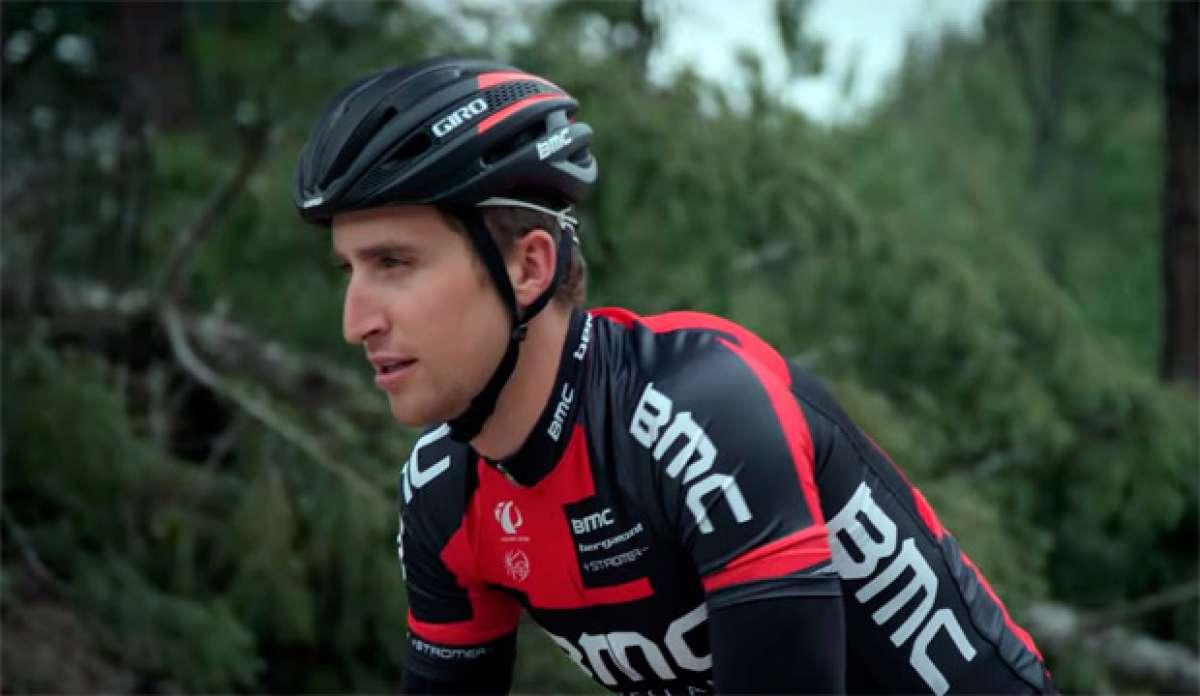El nuevo casco Giro Synthe de 2015 en acción
