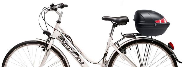 Nueva gama de baúles para bicicletas de la firma italiana GIVI