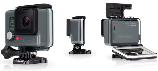 Nueva GoPro HERO+, ahora con Wi-Fi y Bluetooth
