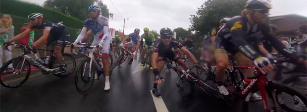 Increíble resumen del Tour de Francia de 2015, desde dentro del pelotón