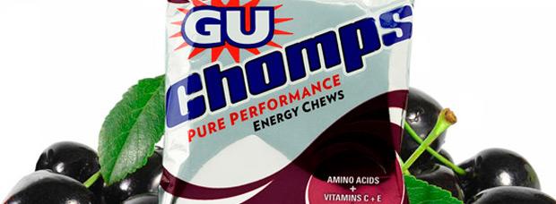 GU Chomps Black Cherry, nuevo sabor a 'piruleta' para estas prácticas gominolas