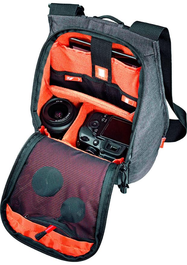 Hama Lismore, la mochila ideal para los ciclistas amantes de la fotografía