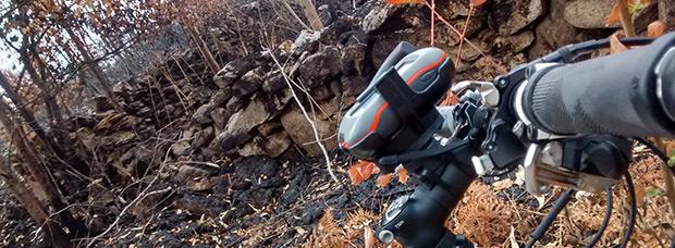 La foto del día en TodoMountainBike: 'Incendios en Galicia'