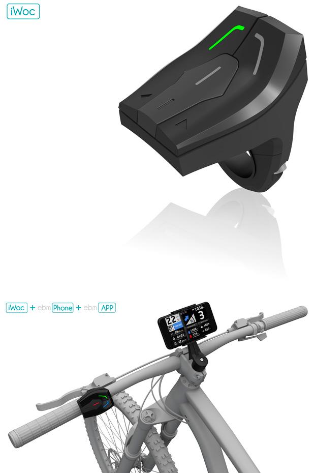 iWoc, un mando inalámbrico (con aplicación incluida) para convertir nuestro smartphone en un completo ciclocomputador con GPS
